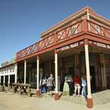 A View of the Crystal Palace, Tombstone, Arizona Stock Images