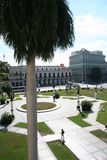 View from Cuban Capitol Royalty Free Stock Image
