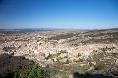 View of Cuenca city Royalty Free Stock Photography