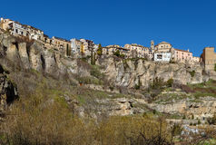 View of Cuenca, Spain Royalty Free Stock Photos