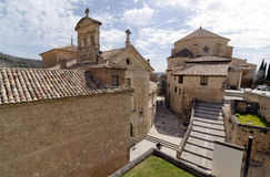 View of Cuenca. View of a street in the old city of Cuenca, Castilla la Mancha, Spain Stock Photo