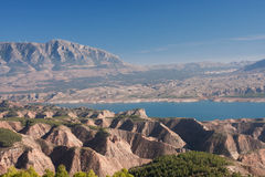 View from cuevas del campo. Beautiful view of a landscape Stock Images
