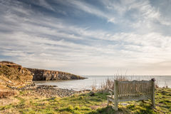 View of Cullernose Point Royalty Free Stock Photos