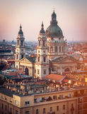 View on Cupola of Basilica of saint Istvan Royalty Free Stock Photography