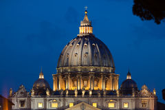 View on cupola of St.Peter's Cathedral Stock Photos