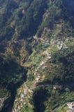 Cural das freiras. View of Cural das freiras valley in Madeira Royalty Free Stock Photography