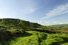 View of Curber edge in the peak district Stock Image