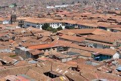 View of Cusco, Peru Royalty Free Stock Image