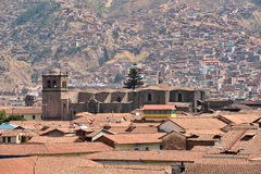 View of Cusco, Peru Royalty Free Stock Images