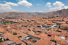 View of Cusco, Peru Stock Photography