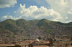 View of Cuzco Royalty Free Stock Photo