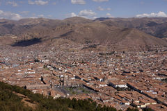 View of Cuzco, Peru Stock Photography