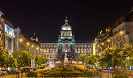 View of Czech National Museum Stock Photo