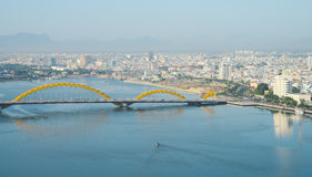 View of Da Nang city centre Stock Photos