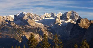 View of Dachstein Group, Austria Royalty Free Stock Image