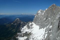 View from Dachstein mountain Royalty Free Stock Photos
