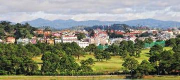 View of Dalat city Royalty Free Stock Images