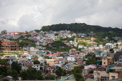 View of Dalat city ( Lam Dong province, Central Highlands region Stock Photos