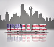 View of Dallas City Royalty Free Stock Photo