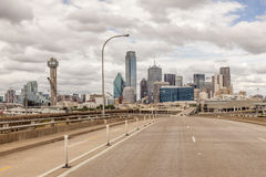 View of Dallas Downtown Royalty Free Stock Images
