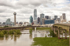 View of Dallas Downtown Stock Photo