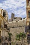 View of Dalt Vila, Ibiza, Spain Royalty Free Stock Photos