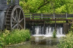 The Dam at the Old Mill Stock Photos