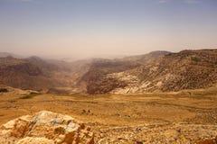 Dana Biosphere Reserve Jordan stock photos
