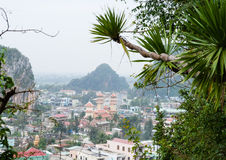 View on Danang marble town Royalty Free Stock Photos