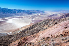 View from Dantes View. In Death Valley National Park in California Stock Photos