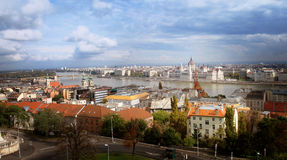 View of the Danube, Budapest, parliament, Hungary stock photos
