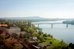 View of the Danube Stock Photos