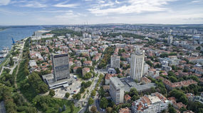 View of the Danube River from Above Stock Photos