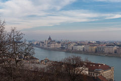 View of the Danube River, Budapest Stock Photo