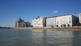 View from the Danube river royalty free stock images