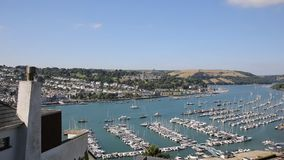 View of Dartmouth Devon England UK historic town Royalty Free Stock Image