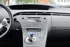View of the dashboard of a car Royalty Free Stock Photos