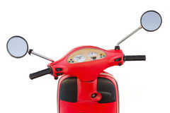 View of the dashboard of scooter Royalty Free Stock Image