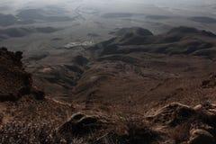 View of David Gareji. Desert gareji view Royalty Free Stock Images