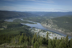 View of Dawson City Royalty Free Stock Image