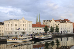 View of day lubeck Stock Image