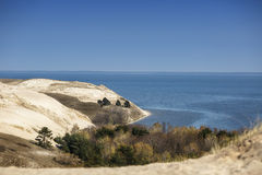 View of Dead Dunes, Curonian Spit, Lithuania Stock Images