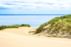 View of Dead Dunes, Nida, Klaipeda, Lithuania Royalty Free Stock Photos
