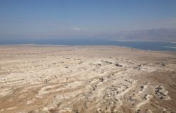 View on dead sea Royalty Free Stock Image
