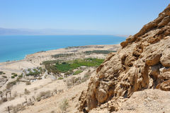 View of the Dead Sea. Stock Photos