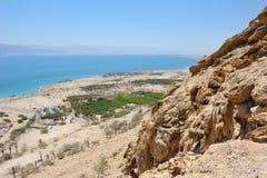View of the Dead Sea. Stock Photos