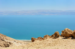 View of the Dead Sea. Stock Photo