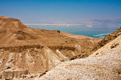 View of the Dead Sea Stock Photography