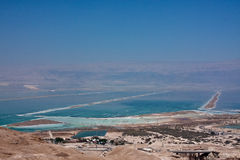 View of the Dead Sea Stock Images