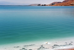 View of Dead Sea coastline. Royalty Free Stock Photos
